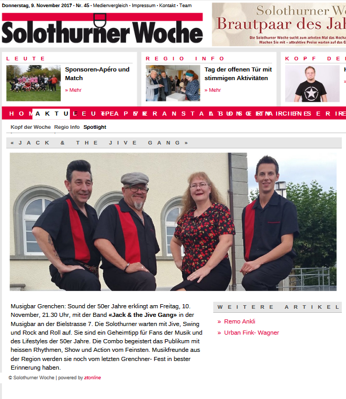 Solothurner Woche, 09.11.2017
