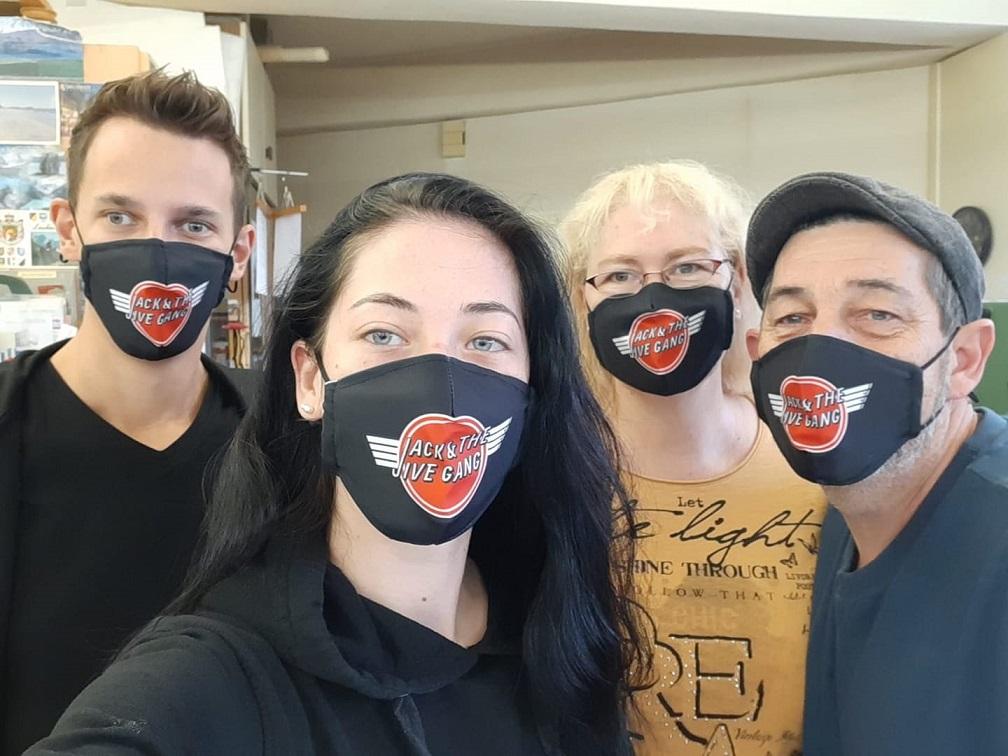 Jack & the Jive Gang Atemschutzmasken